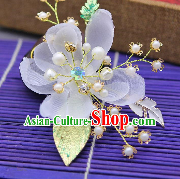 Traditional Handmade Chinese Ancient Classical Hair Accessories Bride Wedding Hairpin, Hanfu Hair Claws for Women