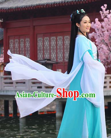 Traditional Ancient Chinese Imperial Princess Costume, Chinese Han Dynasty Young Lady Dress, Cosplay Chinese Imperial Princess Hanfu Clothing for Women