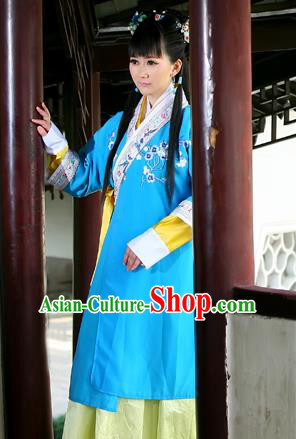 Traditional Ancient Chinese Costume, Chinese Han Dynasty Young Lady Dress, Cosplay Chinese Imperial Princess Clothing for Women