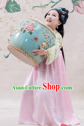 Traditional Ancient Chinese Imperial Princess Costume, Chinese Han Dynasty Children Dance Dress, Cosplay Chinese Princess Clothing Hanfu for Kids