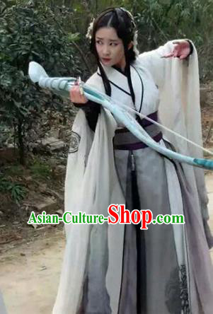 Traditional Ancient Chinese Imperial Emperess Costume, Chinese Han Dynasty Young Lady Dress, Cosplay Chinese Imperial Princess Clothing Hanfu for Women