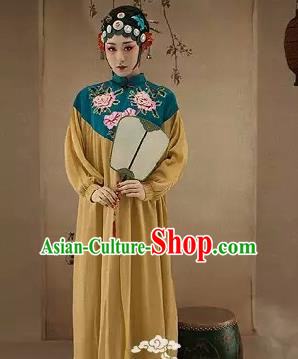 Traditional Ancient Chinese Peking Opera Imperial Consort Costume, Chinese Tang Dynasty Princess Dress, Cosplay Chinese Imperial Concubine Embroidered Clothing for Women