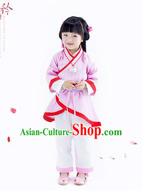 Traditional Chinese Hanfu Costume, Children Han Dynasty Girl Dress, Chinese Han Dynasty Costume for Kids