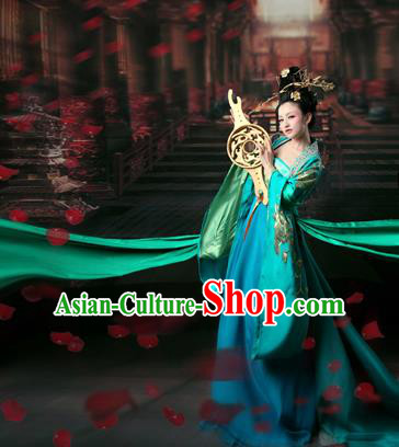 Traditional Ancient Chinese Imperial Emperess Costume, Chinese Tang Dynasty Fairy Dress, Chinese Imperial Consort Embroidered Clothing for Women