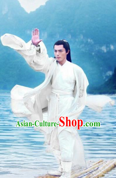 Traditional Chinese Ancient Costumes Ancient Chinese Cosplay Swordsman Knight Martial Arts Costume for Men