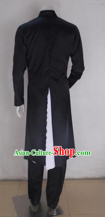 Traditional Chinese Ancient Costume, Folk Dance Kung fu Taichi Uniforms, Classic Dance Martial Art Elegant Clothing for Men