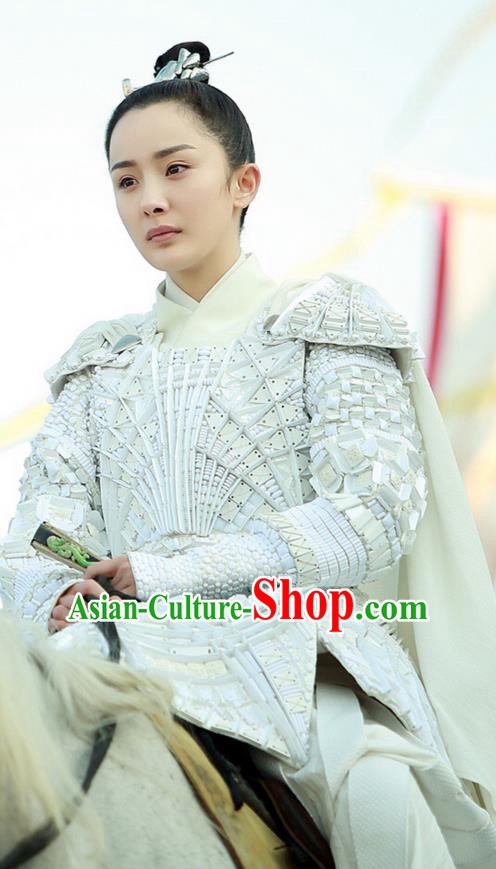 Traditional Ancient Chinese Female General Costume, Elegant Hanfu Armour Dress, Han Dynasty Swordsman Clothing, China Soldiers Corselet Clothing for Women