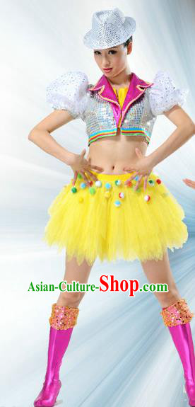 High-quality Dancewear Costumes for Jazz, Tap, Lyrical, Hip Hop, Folk Dance Costume, Jazz Dancing Cloth for Women