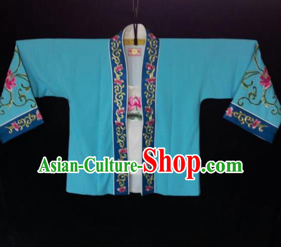 Traditional Chinese Peking Opera Costumes, China Beijing Opera High-grade Silk Embroidered Lotus Flower Clothing for Women