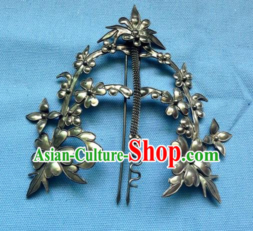 Traditional Handmade Chinese Ancient Classical Hair Accessories Barrettes, Step Shake Hair Sticks Hairpins for Women