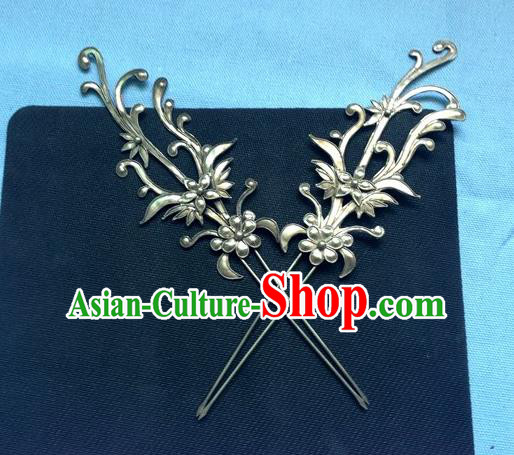 Traditional Handmade Chinese Ancient Classical Hair Jewelry Accessories, China Hanfu Palace Lady Hair Ornament Hairpins Imperial Princess Barrettes Hair Stick for Women