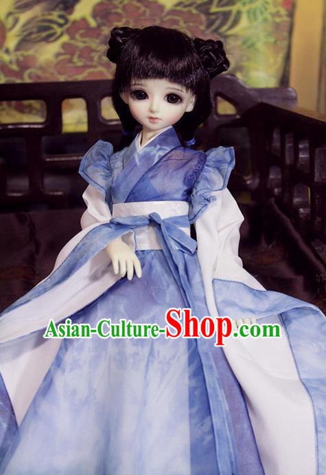 Top Grade Traditional China Ancient Fairy Costumes Complete Set, China Ancient Cosplay Tang Dynasty Princess Dress Hanfu Clothing for Adults and Kids