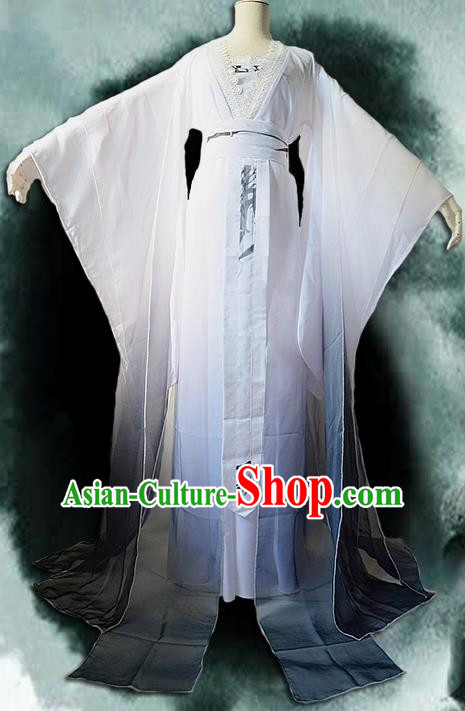 Traditional Chinese Cosplay Nobility Lady Costume, Chinese Ancient Hanfu Tang Dynasty Imperial Princess Dress Clothing for Women