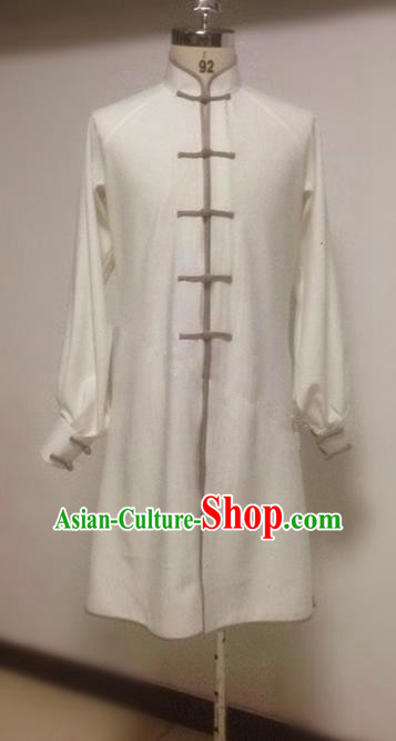 Traditional Ancient Chinese Tang Suit Shirt, Elegant Hanfu China Classical Tai Chi Suit Blouse for Men
