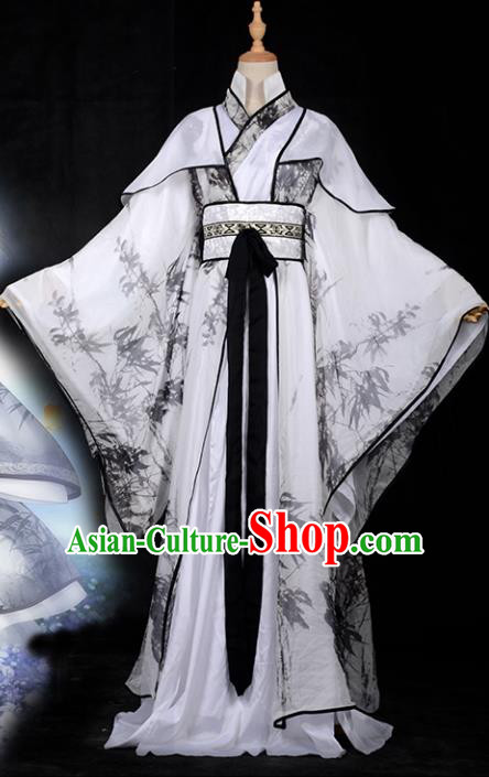 Chinese Ancient Cosplay Royal Highness Costumes, Chinese Traditional Dress Clothing Chinese Cosplay Swordsman Prince Costume for Men