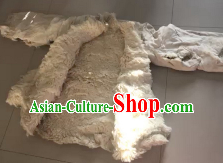 Handmade Old Style Dongbei Province Shanxi Province Farmer Sheep Wool Jacket