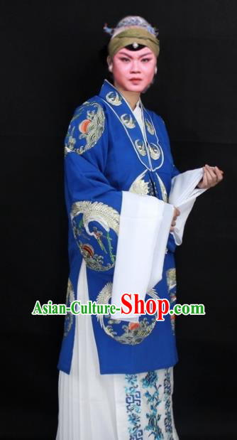 Traditional China Beijing Opera Old Women Costume Embroidered Cape, Ancient Chinese Peking Opera Pantaloon Embroidery Dress Clothing