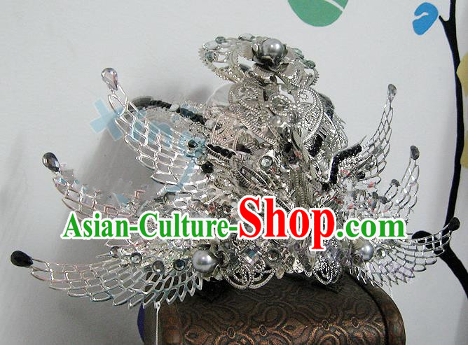 Traditional Handmade Chinese Ancient Classical Hair Accessories, China Ancient Royal Highness Hair Fascinators Tuinga for Men