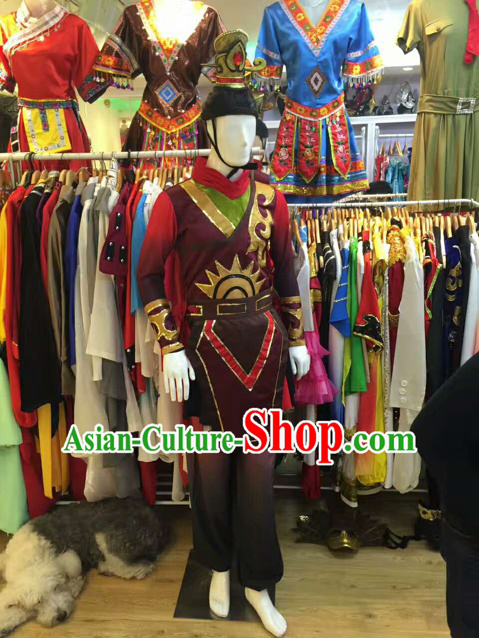 Professional Stage Performance Costume Made to Order Custom Tailored Costumes Classical General Costumes and Headpieces Complete Set