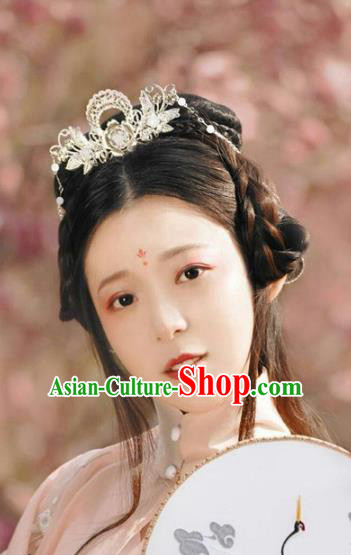 Traditional Ancient Chinese Imperial Consort Hair Accessories, Chinese Han Dynasty Princess Hairpins Headwear for Women