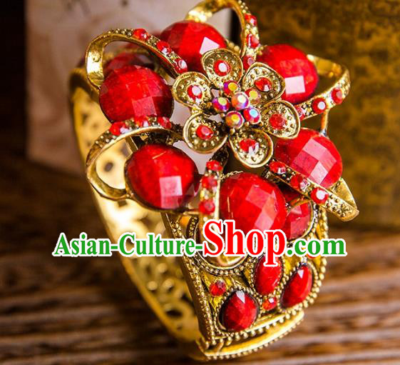 Aisan Chinese Handmade Classical Jewelry Accessories Bracelet, China Xiuhe Suit Wedding Bangle for Women