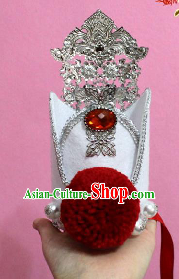 Traditional Handmade Chinese Hair Accessories Swordsman Headwear, China Tang Dynasty Prince Hairdo Crown Tuinga for Men