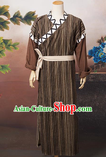 Traditional Chinese Classical Swordsman Costume, China Ming Dynasty Knight Costume for Men
