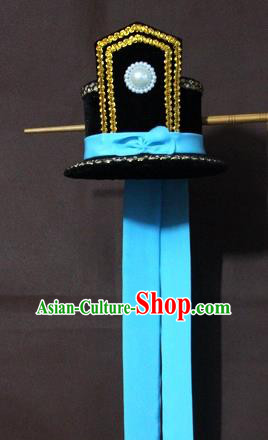 Traditional Chinese Handmade Hair Accessories Beijing Opera Niche Hairdo Crown Headwear for Men