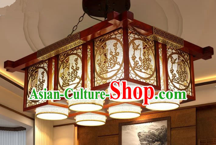 Traditional Chinese Handmade Lantern Classical Palace Lantern China Ceiling Palace Lamp