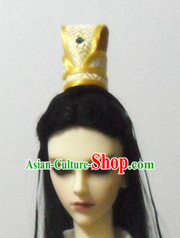 Traditional Handmade Chinese Ancient Prince Hair Accessories Hairdo Crown for Men