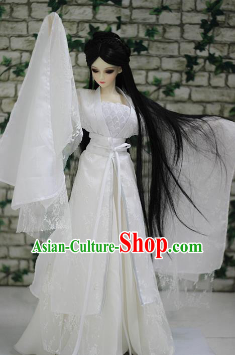 Traditional Chinese Tang Dynasty Princess Costume Ancient Little Dragon Maiden Embroidered Hanfu Clothing for Women
