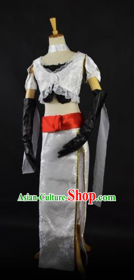 Traditional Chinese Ming Dynasty Swordswoman Costume Ancient Heroine Clothing for Women