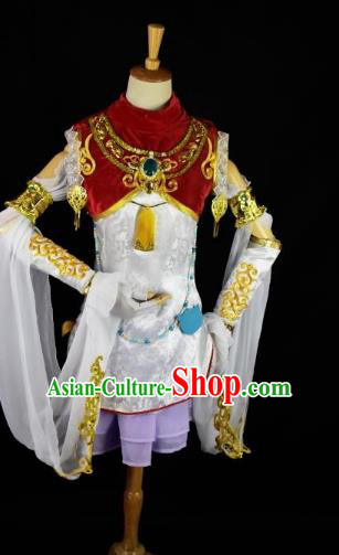 Traditional Chinese Cosplay Ming Dynasty Swordswoman Costume Ancient Young Lady Clothing for Women