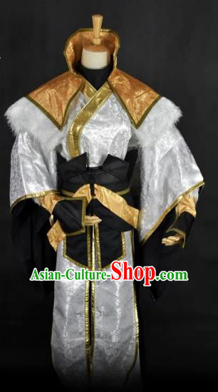 Traditional Chinese Ancient Swordsman Clothing Cosplay Royal Highness Costume for Men