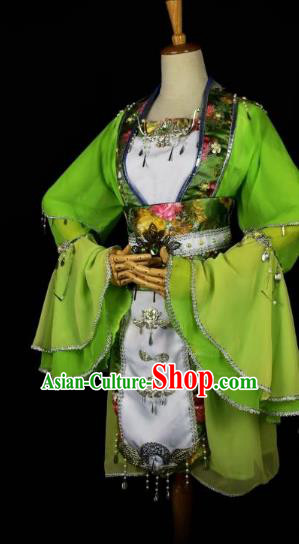 Traditional Chinese Ancient Princess Hanfu Costume Tang Dynasty Young Lady Clothing for Women