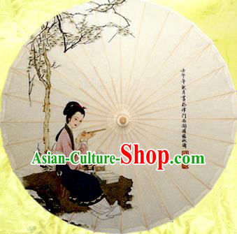 Handmade China Traditional Dance Wedding Umbrella Classical Oil-paper Umbrella Stage Performance Props Umbrellas