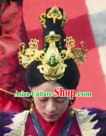 Traditional Handmade Chinese Ancient Classical Hair Accessories Phoenix Coronet Hairpins Complete Set for Women