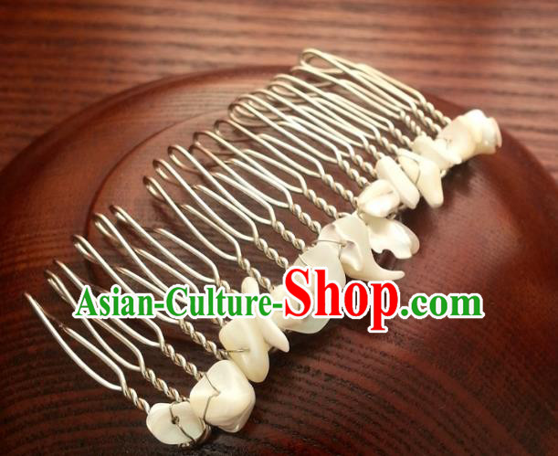 Traditional Handmade Chinese Ancient Classical Wedding Hair Accessories Hairpins Hair Comb for Women