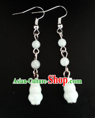 Asian Chinese Traditional Handmade Jewelry Accessories Eardrop Hanfu Classical Earrings for Women