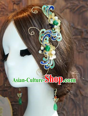 Chinese Handmade Classical Luxurious Hairpins Hair Accessories Ancient Hair Combs for Women