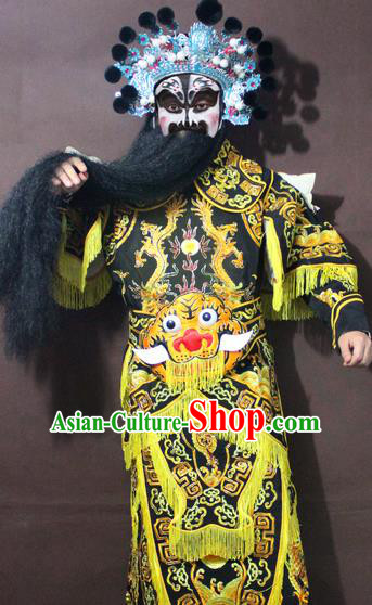 Traditional China Beijing Opera General Costume, Chinese Peking Opera Generaloberst Clothing