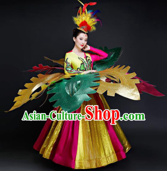 Professional Opening Dance Costume Modern Dance Stage Performance Dancers Dress for Women