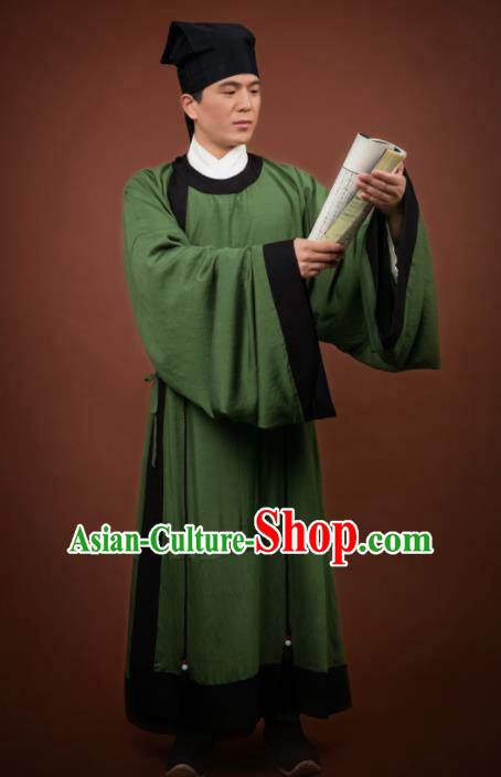 Traditional Chinese Ancient Costumes Song Dynasty Scholar Clothing for Men