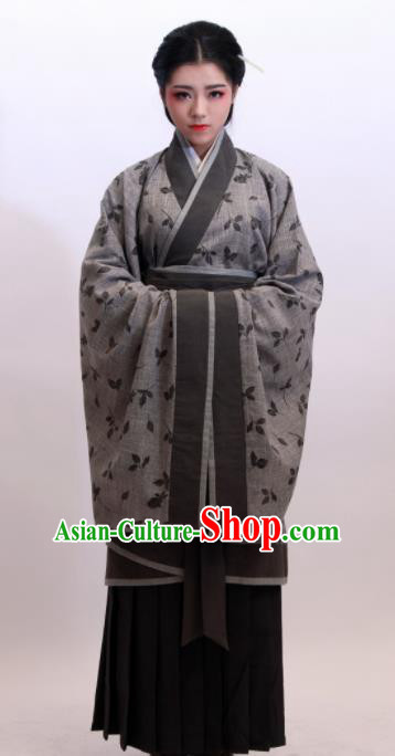 Chinese Traditional Ancient Costumes Han Dynasty Nobility Lady Hanfu Dress for Women