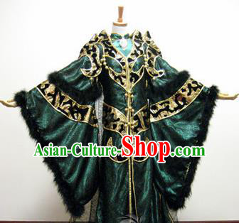 Top Grade Chinese Ancient Cosplay Nobility Marquis Swordsman Costumes for Men