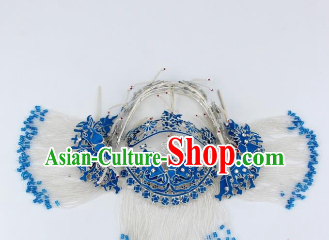 Chinese Traditional Peking Opera Pantaloon Hair Accessories Ancient Hairpins Complete Set for Women