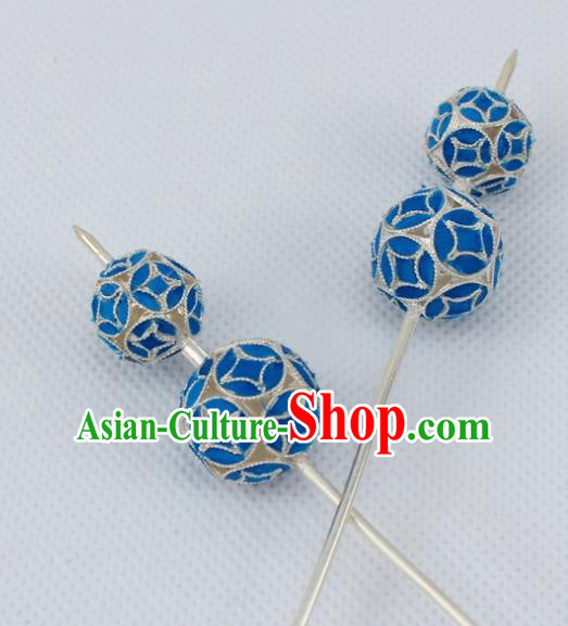 Chinese Traditional Peking Opera Diva Hair Accessories Ancient Calabash Hairpins for Women