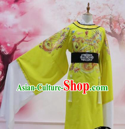 Chinese Traditional Embroidered Robe Ancient Tang Dynasty Emperor Costumes for Men