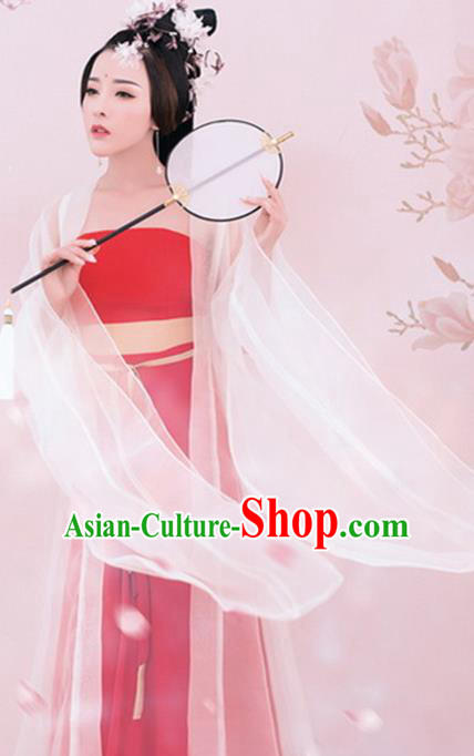 Traditional Chinese Ancient Tang Dynasty Geisha Costumes Hanfu Dress for Women