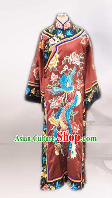 Chinese Ancient Qing Dynasty Imperial Consort Embroidered Costumes for Women